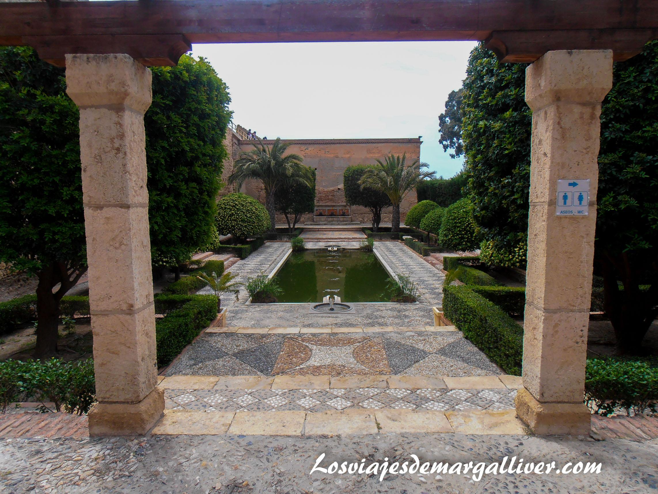 jardines de la alcazaba de Almería en la ruta de Juego de Tronos - Los viajes de Margalliver